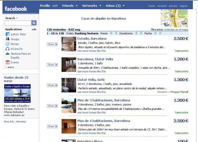 Testowe przełączanie między funkcjami admina i usera na Facebooku