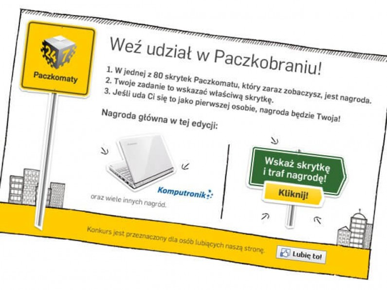 Paczkobranie – kampania zrealizowana dla InPost Paczkomaty 24/7
