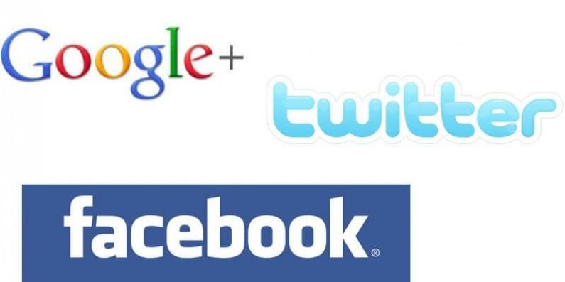 Google+, Facebook i Twitter – co je łączy, a co dzieli