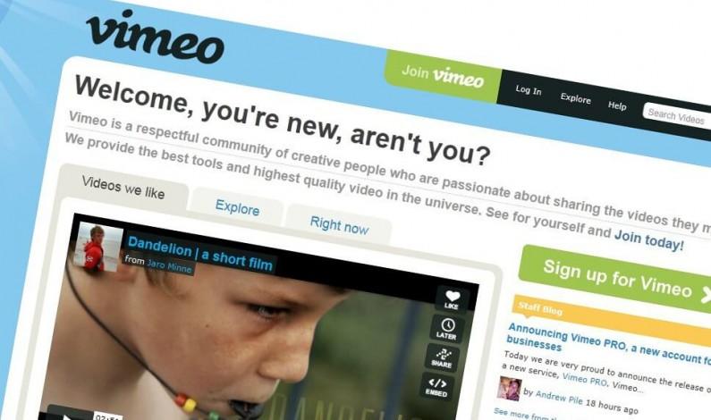 Vimeo oferuje firmom dodatkowe funkcje