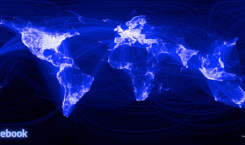 Społecznościowa mapa świata coraz bardziej niebieska
