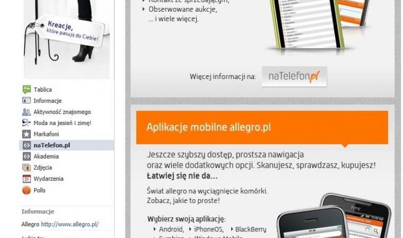 Pół miliona osób lubi Allegro