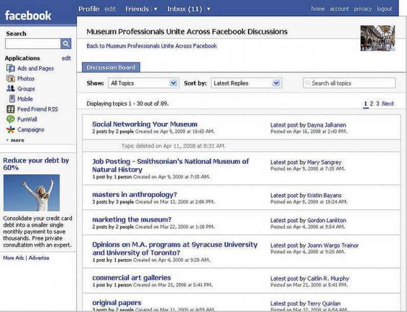 "Koniec ""Dyskusji"" na Facebooku"
