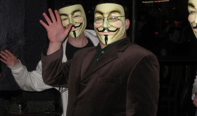 Anonimowi znowu w natarciu: potężny cyberatak
