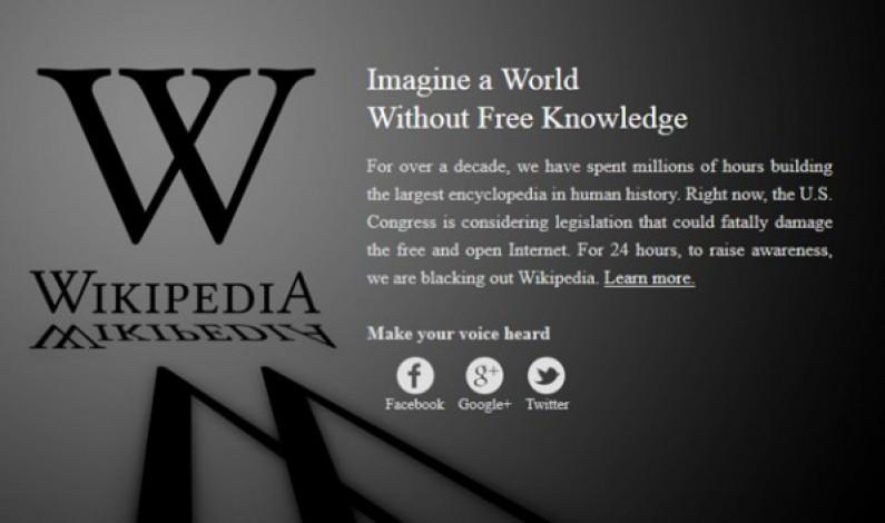 Giganci protestują. Czy to początek wojny internetowej?