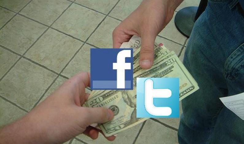 """Marketerzy mogą """"sprzedawać"""" produkty za tweety i posty"""
