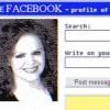 Tak wyglądałby Facebook w latach 90-tych