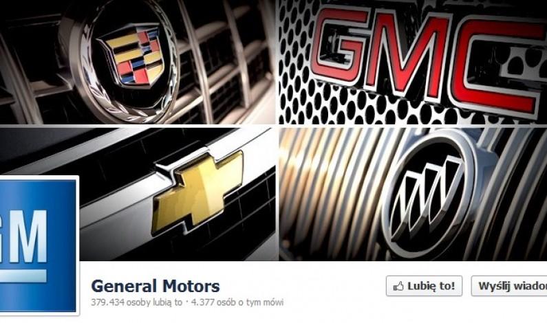Reklamy Facebooka nieefektywne? General Motors twierdzi, że tak