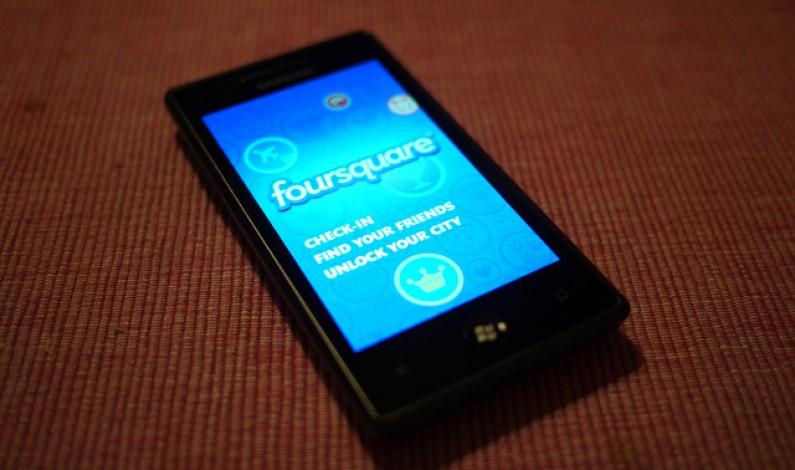 Foursquare nie chce zostać w tyle i też wprowadza reklamy