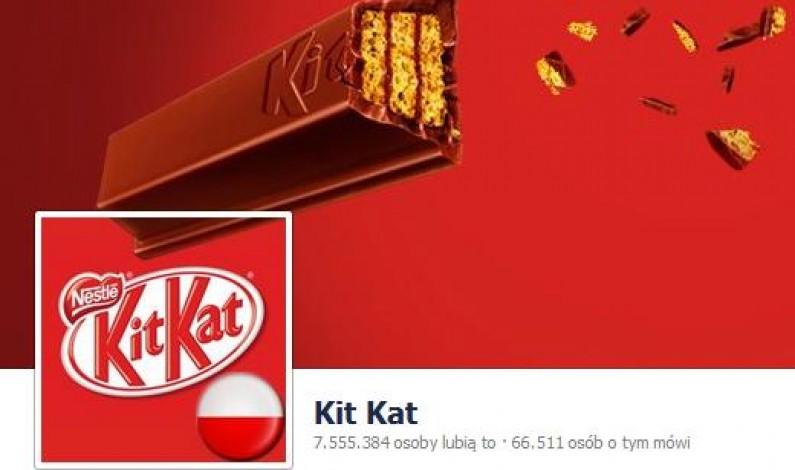 Fan page Kit Kat najpopularniejszy na polskim Facebooku. Jak to możliwe?