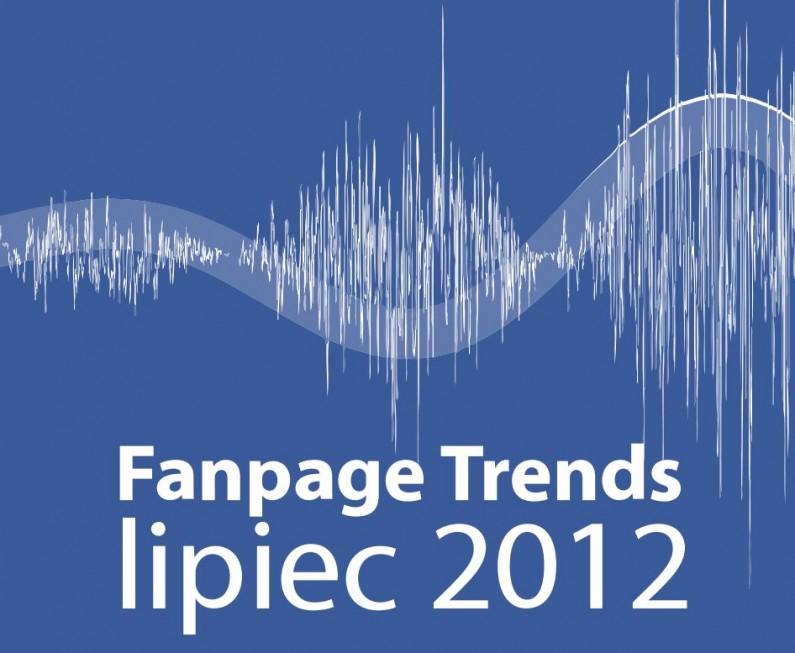 Marketing polskich firm na Facebooku – raport Fanpage Trends lipiec 2012