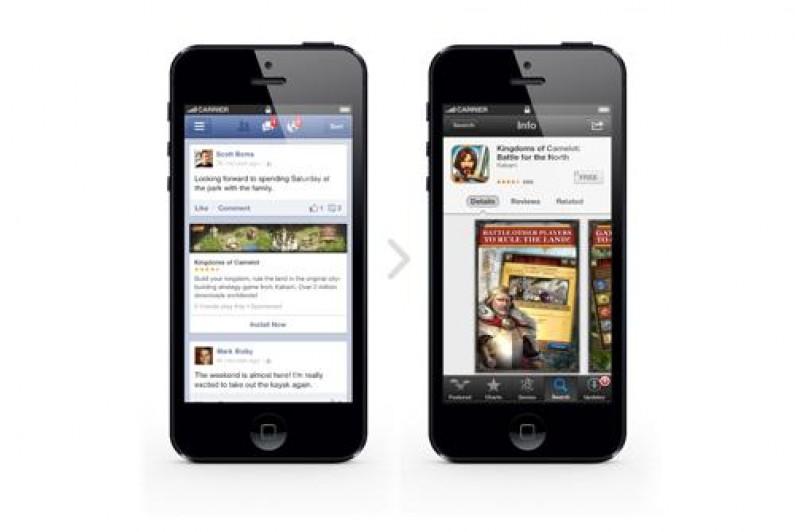 Deweloperzy mogą reklamować swoje mobilne aplikacje na Facebooku