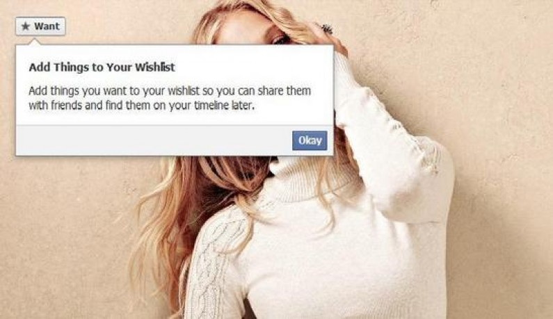 "Facebook testuje przycisk ""chcę to"""