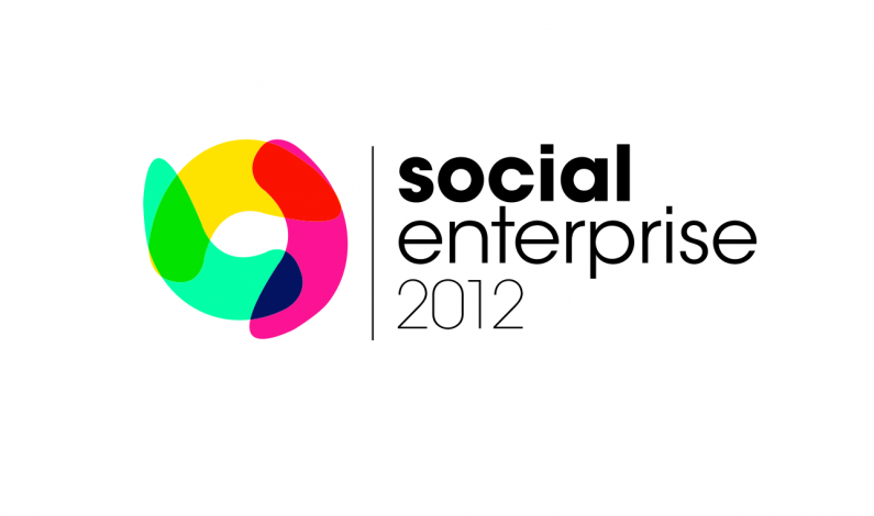 Ted Rubin i Christopher Lockwood na Social Enterprise 2012