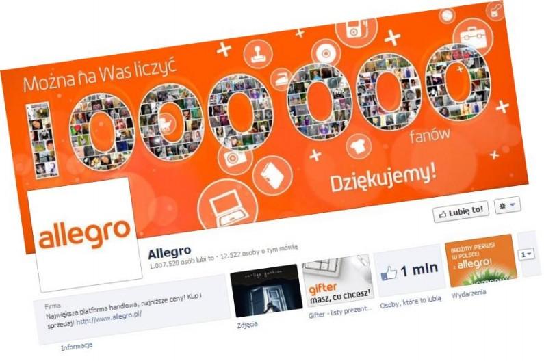 Facebookowicze reklamują Allegro nie wiedząc o tym