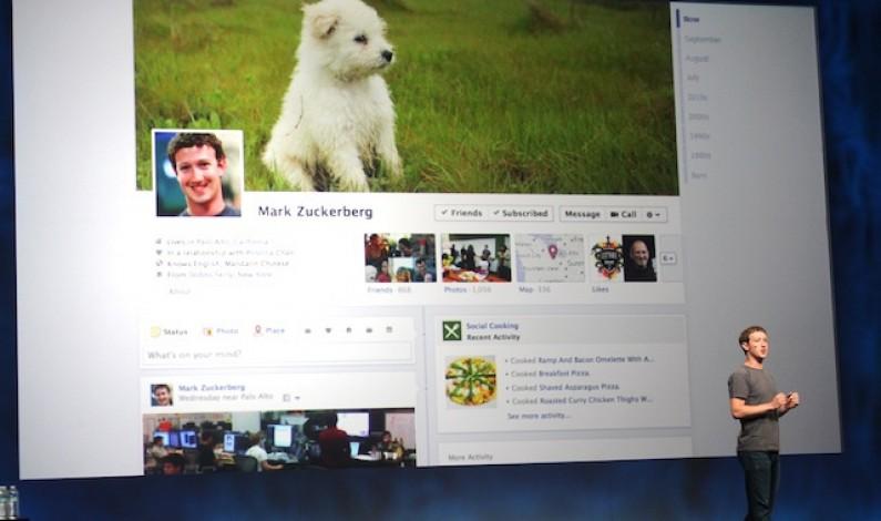 Facebook eksperymentuje z Timeline i kanałem aktualności