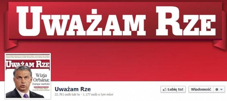 """Fan page """"Uważam Rze"""" stracił po aferze już 5 tysięcy fanów"""