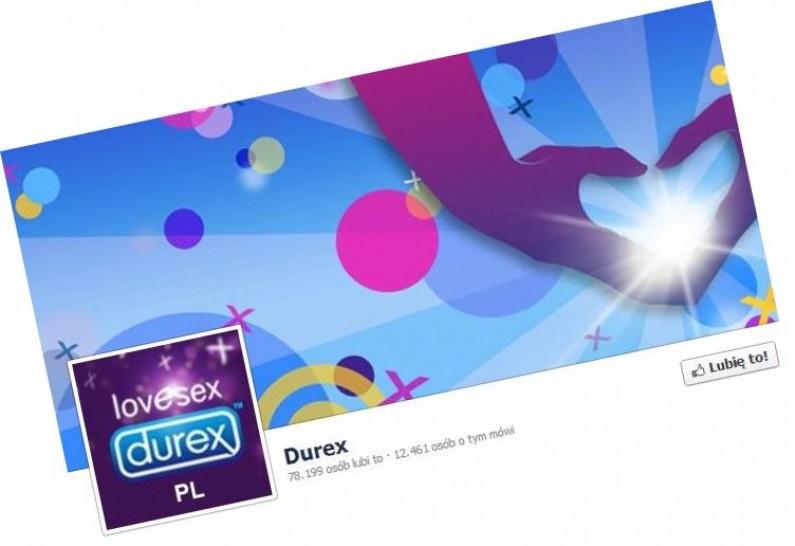 W listopadzie facebookowiczów angażował fan page Durexa