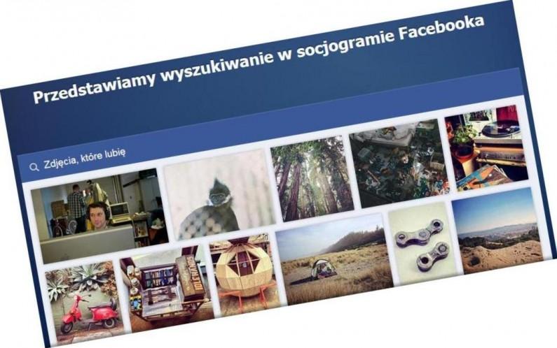 Nie smartfon, a… socjogram! Wyszukiwanie na Facebooku wkracza w nowy wymiar