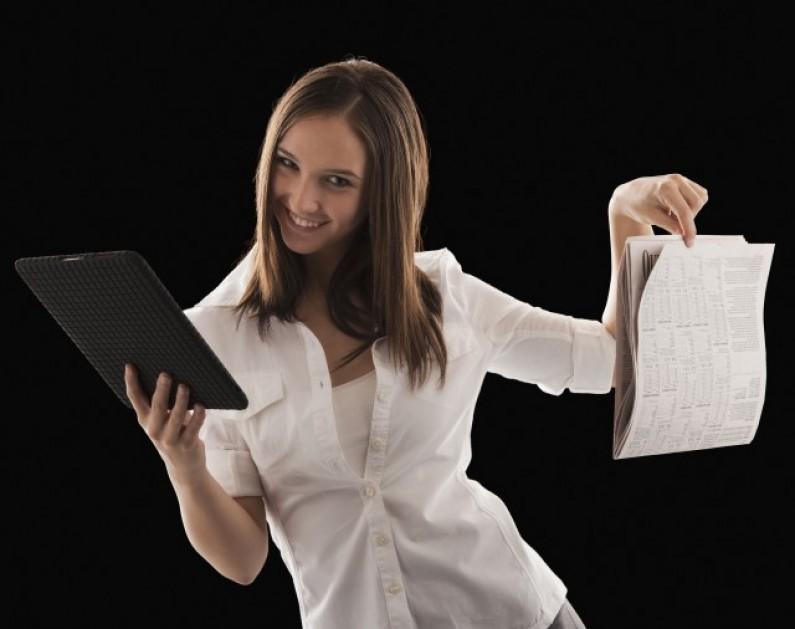 Jak wygląda atrakcyjna gazeta na tablet?