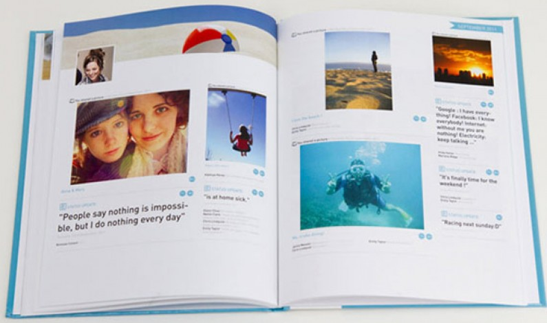 Facebookowy pamiętnik w formie książki? Nic prostszego!