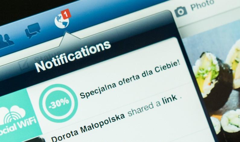Social WiFi – skuteczne narzędzie pozyskania danych klientów?