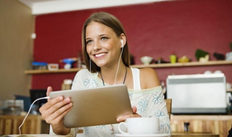 Użytkownicy tabletów to najbardziej rozrywkowi internauci