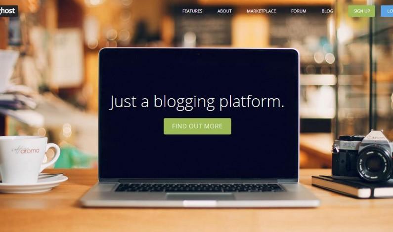 Blogerze! Czy zmienisz WordPressa na Ghosta?