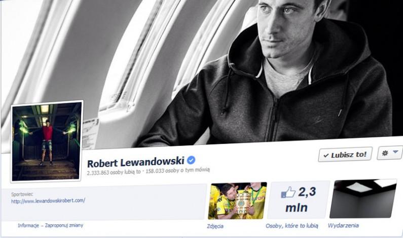 Listopad na Facebooku: Lewandowski na samym szczycie