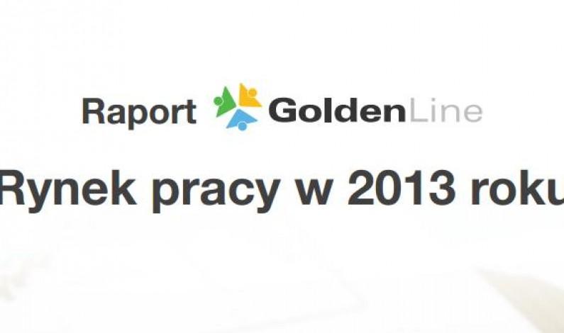 Branże handlowe i informatyczne najczęściej wyszukiwane na GoldenLine w 2013