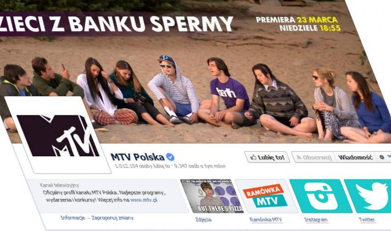 MTV Polska ma 1 milion fanów