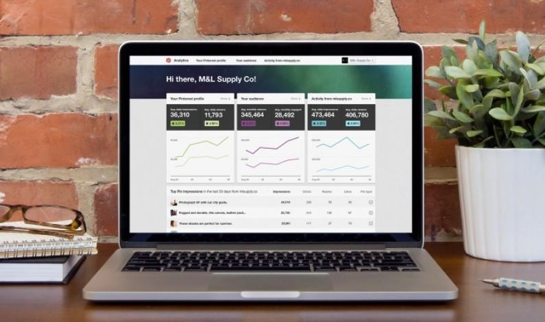 Pinterest ulepsza statystyki dla firm
