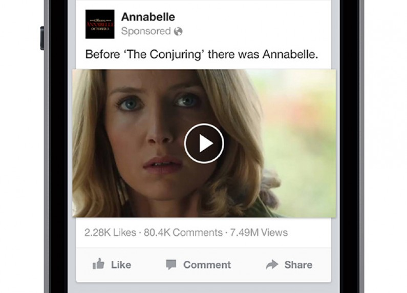 Facebook ujawni użytkownikom, jak popularne są filmiki