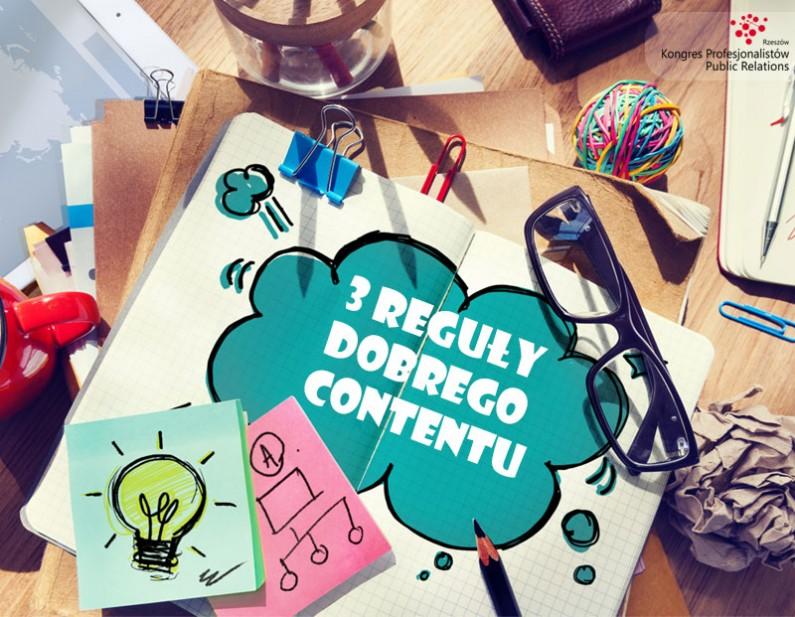 Kongres Profesjonalistów PR – 3 reguły dobrego contentu