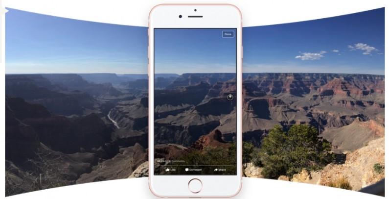 Facebook umożliwił zamieszczanie zdjęć 360 stopni