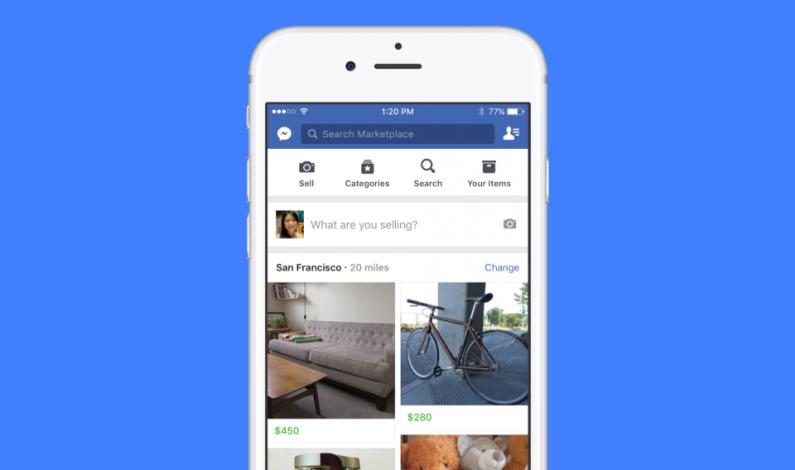 Facebook nowym konkurentem eBay'a? Nowa funkcja Marketplace