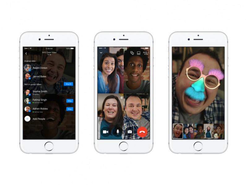 Nowość w Messengerze: grupowe wideo rozmowy