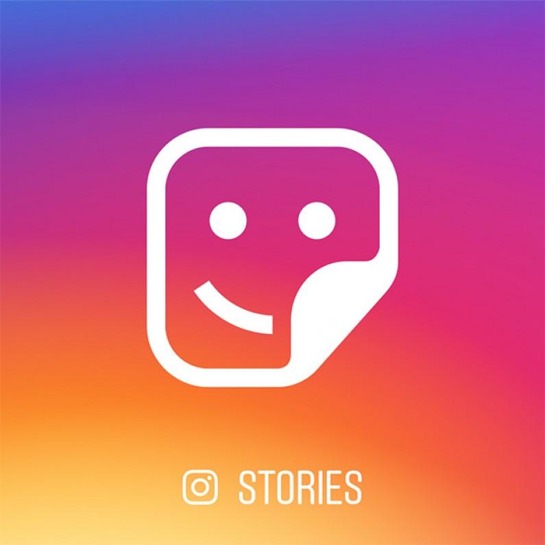 Instagram jeszcze bardziej upodabnia się do Snapchata – kontekstowe naklejki w sekcji Stories