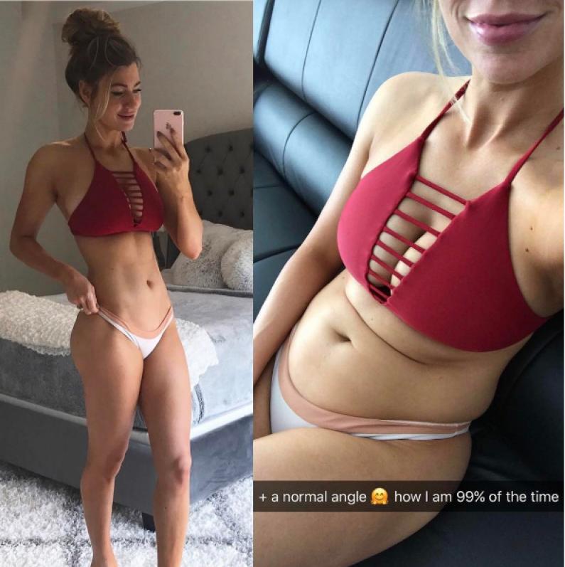 Jak poza Instagramem wyglądają trenerki i blogerki fitness?