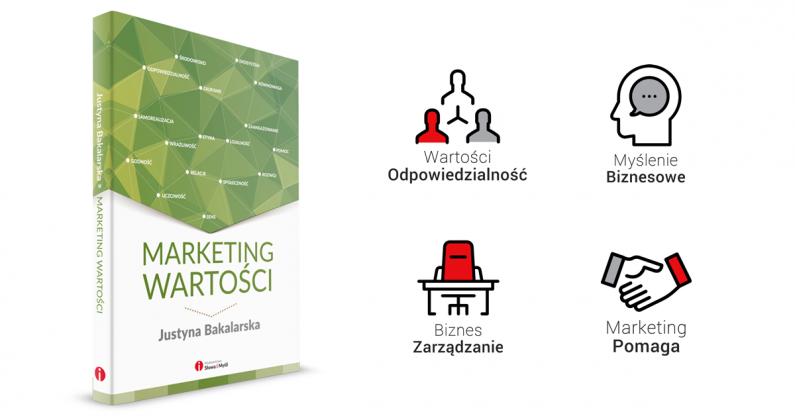 """Czy wartości w biznesie mają sens? Recenzja książki """"Marketing wartości"""" Justyny Bakalarskiej"""