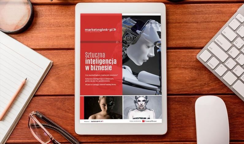 Sztuczna inteligencja w biznesie to już rzeczywistość. Pobierz pierwszy polski raport o AI w firmach