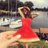 #Watermelondress – fotograficzny trend, który podbija Instagrama