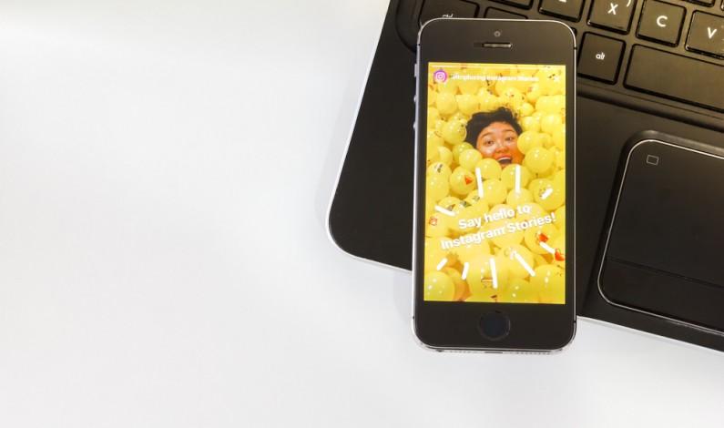 Reklamy z przyciskiem CTA w Instagram Stories