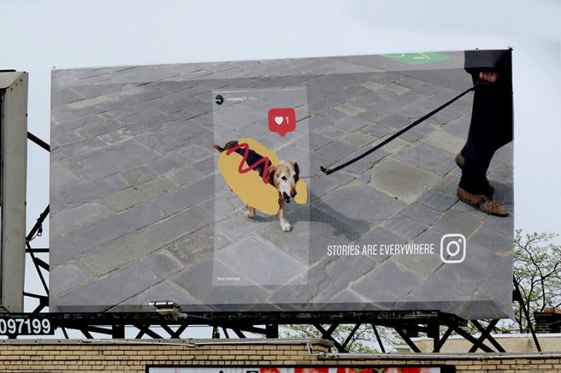 """""""Stories są wszędzie"""", czyli kampania reklamowa Instagrama na ulicach miast"""