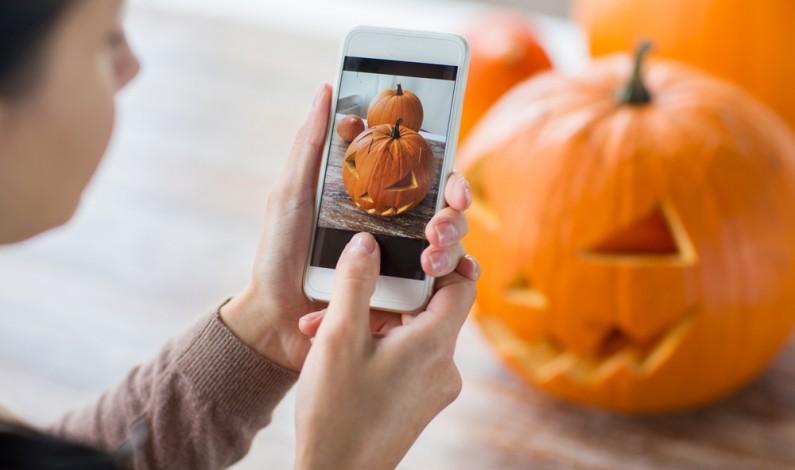 Nowości na Halloween w mediach społecznościowych