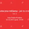 O skutecznej reklamie podczas Auli Polskiej w Krakowie