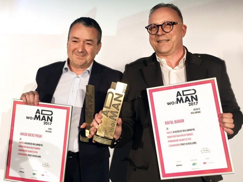 Rafał Baran i Jakub Bierzyński AdManami Roku 2017