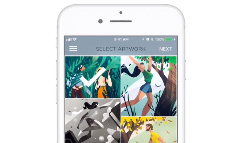 Aplikacja 8×10 pozwala sprzedawać zdjęcia z Instagrama niczym dzieła sztuki