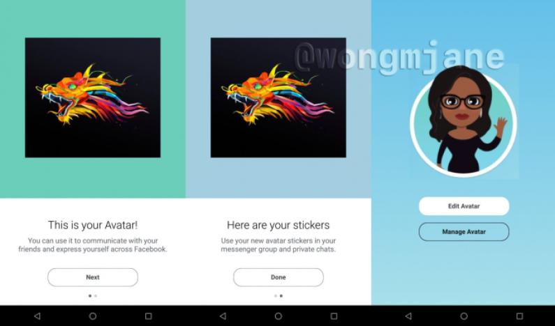 Facebook skopiuje Bitmoji i pozwoli na tworzenie avatarów?
