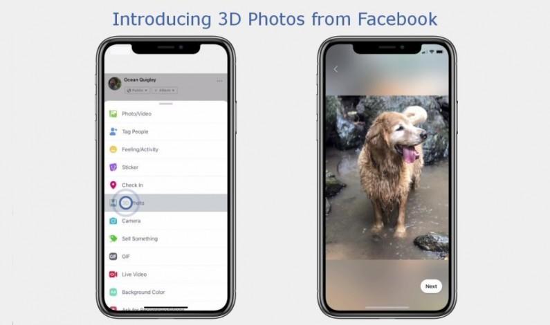 Zdjęcia 3D już dostępne na Facebooku